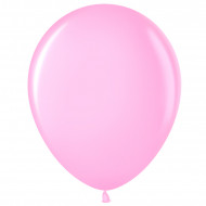 Шар (12''/30 см) Розовый (433), пастель, 100 шт.